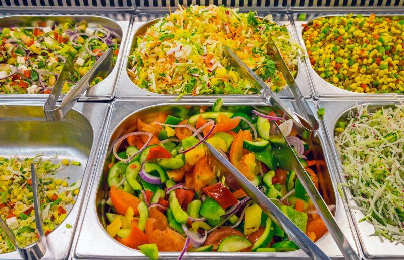 Opções vegetarianas não faltam Foto: Elxeneize/Fotolia