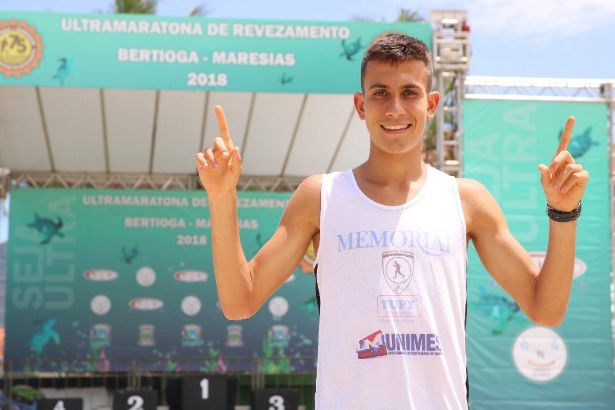 Santistas dividem vitória e recorde na Ultramaratona Bertioga-Maresias 75 km